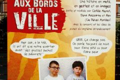 Aux bords de la ville