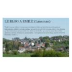 Le blog à Émile (Lansman)